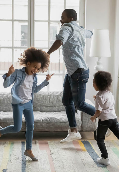 FAQ about our indoor air quality services to help families