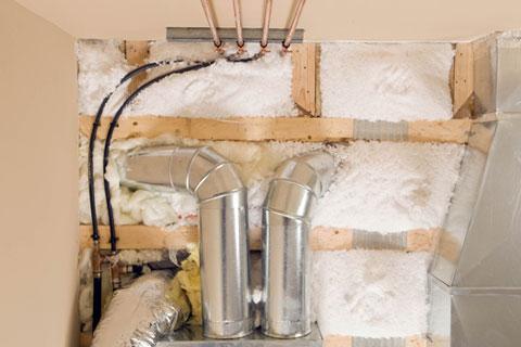 insulation installation in ceiling