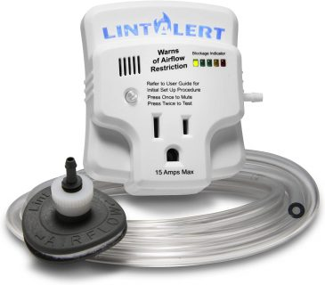 Lint Alert tool for dryer vent cleaning service