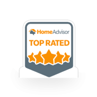 Home Advisor top rated award for air duct cleaning services